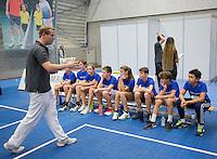 Rotterdam, Netherlands, December 17, 2016, Topsportcentrum, Ballkids selection day for ABNAMROWTT 2017,  <br /> Photo: Tennisimages/Henk Koster