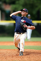 July 9, 2009:  Tony Wolters, one of many top prospects in action, taking part in the World Wood Bat Association National Championships at East Cobb Baseball Fields in Greater Atlanta, GA.  Photo By David Stoner / Four Seam Images