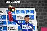 Niki Terpstra (NED) Quick-Step floors finishes in 3rd place in the Roubaix Velodrome at the end of the 116th edition of Paris-Roubaix 2018. 8th April 2018.<br /> Picture: ASO/Pauline Ballet | Cyclefile<br /> <br /> <br /> All photos usage must carry mandatory copyright credit (© Cyclefile | ASO/Pauline Ballet)
