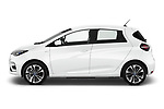 Car Driver side profile view of a 2020 Renault ZOE Edition-One 5 Door Hatchback Side View