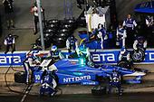 Verizon IndyCar Series<br /> Rainguard Water Sealers 600<br /> Texas Motor Speedway, Ft. Worth, TX USA<br /> Saturday 10 June 2017<br /> Tony Kanaan, Chip Ganassi Racing Teams Honda pit stop<br /> World Copyright: Michael L. Levitt<br /> LAT Images