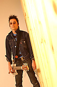 Earl Slick Lead Guitarist of David Bowie: Studio Portrait Session at Lightning Studios, In New York City, On.Photo Credit: Eddie Malluk/Atlas Icons.com