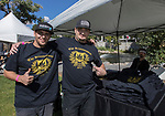 Dabz and Kronik during the inaugural Bud and Brew Music Festival in Wingfield Park in downtown Reno on Saturday, Sept. 23, 2017.