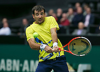 10-02-14, Netherlands,Rotterdam,Ahoy, ABNAMROWTT,Ivan Dodig(CRO)<br /> Photo:Tennisimages/Henk Koster
