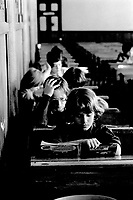 FILE PHOTO -  Education in 1975<br /> <br /> Photo : Alain Renaud<br />  - Agence Quebec Presse