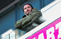 Harrison, N.J. - Sunday March 04, 2018: David Beckham during a 2018 SheBelieves Cup match between the women's national teams of the Germany (GER) and England (ENG) at Red Bull Arena.