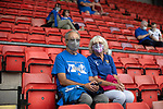 St Johnstone v Preston North End…13.07.21  McDiarmid Park<br />Fans at McDiarmid Park for the first time in 15 months<br />Picture by Graeme Hart.<br />Copyright Perthshire Picture Agency<br />Tel: 01738 623350  Mobile: 07990 594431