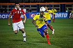 USA-NewYork-Soccer match of Ecuador against Chile in New York