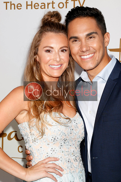 Alexa PenaVega, Carlos PenaVega<br /> at the Hallmark TCA Summer 2017 Party, Private Residence, Beverly Hills, CA 07-27-17<br /> David Edwards/DailyCeleb.com 818-249-4998