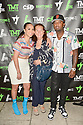MIAMI, FLORIDA - JUNE 03: Sui, nalive and James McNair attends The Money Team Fight Weekend Kickoff at Victory Restaurant and Lounge on June 03, 2021 in Miami, Florida. ( Photo by Johnny Louis / jlnphotography.com )