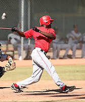 Jeremy Moore / Los Angeles Angels 2008 Instructional League..Photo by:  Bill Mitchell/Four Seam Images