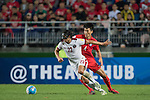 Korea Republic vs Qatar during the2018 FIFA World Cup Russia Asian Qualifiers Final Qualification Round Group A match at Suwon World Cup Stadium on 06 October 2016, in Suwon, South Korea. Photo by Victor Fraile / Power Sport Images