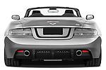 Straight rear view of a 2007 - 2012 Aston Martin DBS Volante Convertible.
