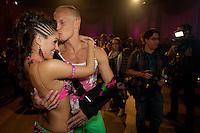Oslo, 20090926. Skal vi danse. Triana Iglesias og Tobias Karlsson.