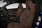 Front seat view of 2017 Mercedes Benz CLA CLA 4 Door Sedan Front Seat  car photos