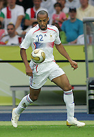 Gennaro Gattuso, Thierry Henry.  Italy defeated France on penalty kicks after leaving the score tied, 1-1, in regulation time in the FIFA World Cup final match at Olympic Stadium in Berlin, Germany, July 9, 2006.