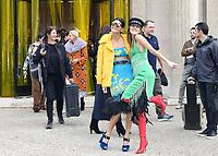 Giovanna BATTAGLIA, Anna DELLO RUSSO - Show MIU MIU Paris Fashion Week Womenswear Sring/Summer 2018 - 03/10/2017 - France
