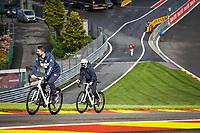 26th August 2021; Spa Francorchamps, Stavelot, Belgium: FIA F1 Grand Prix of Belgium, driver arrival day:  TSUNODA Yuki jap, Scuderia AlphaTauri Honda AT02