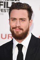 """Aaron Taylor-Johnson<br /> at the London Film Festival 2016 premiere of """"Nocturnal Animals"""" at the Odeon Leicester Square, London.<br /> <br /> <br /> ©Ash Knotek  D3179  14/10/2016"""