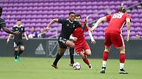 Orlando, Florida - Saturday January 13, 2018: Mason Toye. Match Day 1 of the 2018 adidas MLS Player Combine was held Orlando City Stadium.