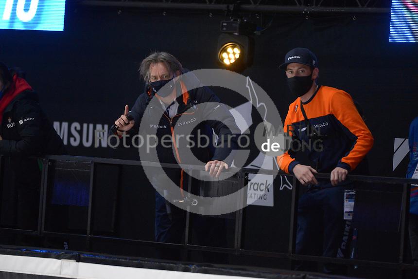 SPEEDSKATING: DORDRECHT: 07-03-2021, ISU World Short Track Speedskating Championships, Jeroen Otter (coach NED), ©photo Martin de Jong