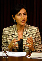 Toronto (ON) - May 29, 2007 - Information and<br /> Privacy Commissioner (Ontario) (Dr.) Ann Cavoukian released her 2006<br /> Annual Report today, is basing her criticism on the type of appeals her<br /> office is receiving when government organizations refuse to disclose<br /> requested information.<br /> <br /> photo by Dominic Chan Images Distribution