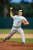 Daytona Tortugas relief pitcher Alex Webb (31) delivers a pitch during a game against the Florida Fire Frogs on April 7, 2018 at Osceola County Stadium in Kissimmee, Florida.  Daytona defeated Florida 4-3 in a six inning rain shortened game.  (Mike Janes/Four Seam Images)