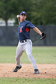 March 20th 2008:  Jeff Hehr of the Cleveland Indians minor league system during Spring Training at Chain of Lakes Training Complex in Winter Haven, FL.  Photo by:  Mike Janes/Four Seam Images