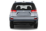 Straight rear view of a 2007 - 2012 Citroen C-CROSSER Exclusive  SUV 4WD