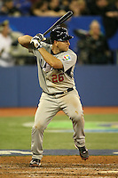 March 8, 2009:  Catcher Chris Iannetta (26) of Team USA during the first round of the World Baseball Classic at the Rogers Centre in Toronto, Ontario, Canada.  Team USA defeated Venezuela  15-6 to secure a spot in the second round of the tournament.  Photo by:  Mike Janes/Four Seam Images