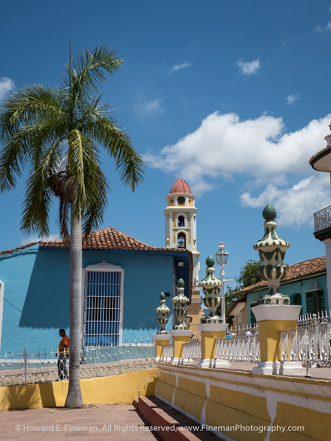 Colorful Placa Mayor, Trinidad
