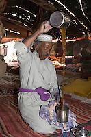 Ghadames, Libya - Tuareg Prepares Tea