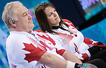 Ina Forrest, Sochi 2014 - Wheelchair Curling // Curling en fauteuil roulant.<br />
