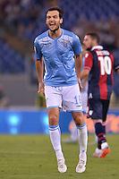 Marco Parolo Lazio.<br /> Roma 22-08-2015 Stadio Olimpico, Football Calcio 2015/2016 Serie A Lazio - Bologna Foto Antonietta Baldassarre / Insidefoto