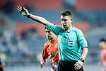 Fifa Referee Valentin Kovalenko of Uzbekistan gestures during the AFC Champions League 2017 Group H match Between Jeju United FC (KOR) vs Gamba Osaka (JPN) at the Jeju World Cup Stadium on 09 May 2017 in Jeju, South Korea. Photo by Marcio Rodrigo Machado / Power Sport Images
