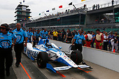 Verizon IndyCar Series<br /> Indianapolis 500 Qualifying<br /> Indianapolis Motor Speedway, Indianapolis, IN USA<br /> Saturday 20 May 2017<br /> Marco Andretti, Andretti Autosport with Yarrow Honda<br /> World Copyright: Phillip Abbott<br /> LAT Images<br /> ref: Digital Image abbott_IndyQ-0517_19500