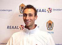 18-12-10, Tennis, Rotterdam, Reaal Tennis Masters 2010, Persconferentie met Thomas Schoorel