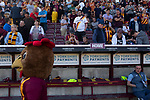 Bradford City 3, Carlisle United 1, 21/09/2019. Valley Parade, EFL League 2. Home fans looking on during half-time as Bradford City played Carlisle United in a Skybet League 2 fixture at Valley Parade. The home team were looking to bounce back after being relegated during a disastrous 2018-19 season on and off the pitch. Bradford won the match 3-1, watched by a crowd of 14, 217. Photo by Colin McPherson.