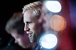 Leicester City FC Goalkeeper Kasper Schmeichel during a Premier League Asia Trophy Press Conference at Grand Hyatt Hotel on July 21, 2017 in Hong Kong, China. Photo by Marcio Rodrigo Machado / Power Sport Images