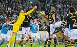 MFF-AIK, Allsvenskan 10282019. AIK's keeper Budimir Janosevic.
