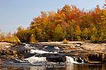 Warnertown Falls, Tobyhanna Creek; Pocono Mts, PA