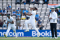 Mohammad Shami, India in bowling action during India vs New Zealand, ICC World Test Championship Final Cricket at The Hampshire Bowl on 23rd June 2021