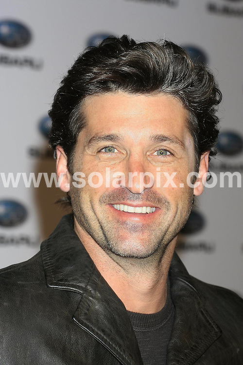 **ALL-ROUND PICTURES FROM SOLARPIX.COM**.**WORLD SYNDICATION RIGHTS EXCEPT BELGIUM, GERMANY, HOLLAND, SCANDINAVIA, SOUTH AMERICA, SPAIN, & USA**.American actor Patrick Dempsey from Grey's Anatomy is in Madrid at a photocall for Japanese car maker Subaru. Madrid, Spain. 25 September 2009..This pic: Patrick Dempsey..JOB REF: 10027 SKX      DATE: 25_09_2009.**MUST CREDIT SOLARPIX.COM OR DOUBLE FEE WILL BE CHARGED**.**MUST NOTIFY SOLARPIX OF ONLINE USAGE**.**CALL US ON: +34 952 811 768 or LOW RATE FROM UK 0844 617 7637**