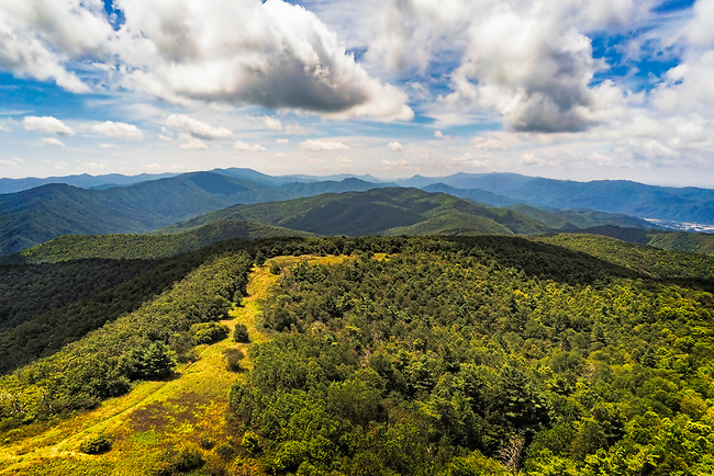 Appalachian Balds, Unaka Mountains