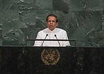 Opening of GA 72 2017 PM<br /> <br /> His Excellency Maithripala Sirisena, President of the Democratic Socialist Republic of Sri Lanka