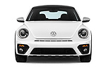 Car photography straight front view of a 2017 Volkswagen Beetle Dune 3 Door Hatchback