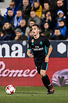 Lucas Vazquez of Real Madrid in action during the Copa del Rey 2017-18 match between CD Leganes and Real Madrid at Estadio Municipal Butarque on 18 January 2018 in Leganes, Spain. Photo by Diego Gonzalez / Power Sport Images