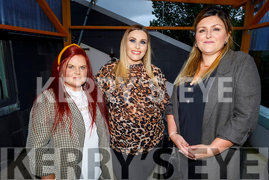 Amy Kennedy, Lisa and Jean O'Shea enjoying the evening in Ristorante Uno on Saturday.