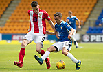 St Johnstone v East Fife…14.07.18…  McDiarmid Park    League Cup<br />Stefan Scougall and Ross Dunlop<br />Picture by Graeme Hart. <br />Copyright Perthshire Picture Agency<br />Tel: 01738 623350  Mobile: 07990 594431