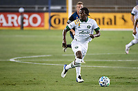 SAN JOSE, CA - SEPTEMBER 19: Diego Chara #21 of the Portland Timbers during a game between Portland Timbers and San Jose Earthquakes at Earthquakes Stadium on September 19, 2020 in San Jose, California.